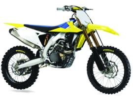 Polisport plastic kit Suzuki RMZ 250 2019 & RMZ 450 2018-2019