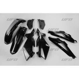 UFO plastic kit Husqvarna 2 takt CR 125 2007-2008 & WR 125/250 2007-2008