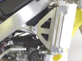 Works Connection Radiator Braces voor de Suzuki RMZ 250 2007-2009