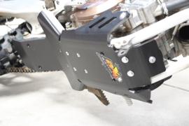 AXP Enduro Xtrem HDPE blokbescherming zwart KTM SX 250 2011-2016 & Husqvarna TE 250/300 2014-2016 & TC 250 2014-2016