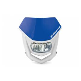 Polisport koplamp Halo Led Yamaha blauw/wit ECE goedgekeurd