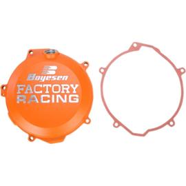 Boyesen koppelingsdeksel oranje KTM EXC-F 250 2013-2016 & EXC-F 350 2012-2016 & SX-F 250 2013-2015 & SX-F 350 2011-2015 & Husqvarna FC 250/350 2014-2015 & FE 250/350 2014-2016
