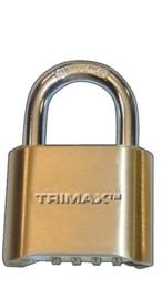 Trimax resettable gecombineerd cijferslot