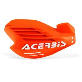 Acerbis X-Force handkappen fluor oranje/wit