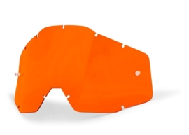 100% replacement lens voor RACECRAFT / ACCURI / STRATA oranje