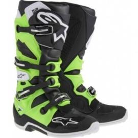 Alpinestars laarzen Tech 7 zwart/groen