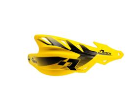 Rtech handkappen Raptor + montageset RMZ geel speciaal voor de Supermoto en Enduro