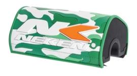 Neken stuurbeschermer oversized (28.6mm) camo groen