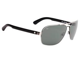 SPY zonnebril Showtime McGrath Antique zilver/zwart - Happy lens grijs/groen polar lens