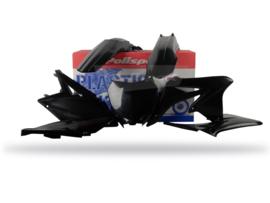 Polisport plastic kit zwart voor de RMZ 250 2010-2018