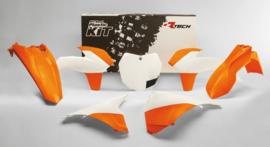 Racetech plastic kit OEM 2015 voor KTM SX 125/150 2013-2015 & SX 250 2013-2016 & SX-F 250/350/450 2013-2015