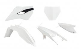 Rtech Plastic kit originele kleur 2014 voor de Husqvarna TC 125 2014-2015 & TC 250 2014-2016 & FC 250/350/450 2014-2015
