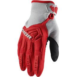 Thor MX handschoenen Spectrum Grijs / Rood