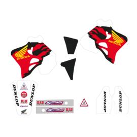 Blackbird Replica Team Honda USA 1995 sticker set Honda CR 125R 1993-1997 & CR 250R 1992-1996