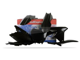 Polisport plastic kit zwart Suzuki RM-Z 450 2008-2017