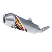 FMF Factory 4.1 slip-on uitlaat demper met RVS middenstuk Honda CRF 250R 2004-2005 & CRF 250X 2004-2009 & 2012-2017