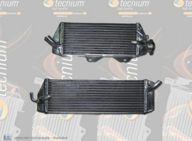 Tecnium originele grootte radiator KTM SX 125/150 2016-2017 & SX 250 2017 & SX-F 250 2016-2017 & EXC 250/300 2017 & EXC-F 250/350/450/500 2017-2018 & SX-F 450 2016-2018 & Husqvarna TC 250 2017-2018 & TE 250/300 2017-2018 & FC 450 2016-2017 & FE 250/350/45