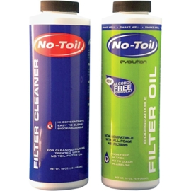 No Toil Evolution Bio luchtfilter olie & cleaner