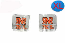 RNR losse kapjes Wit voor RNR XL crossbrillen