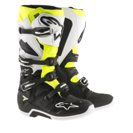 Alpinestars laarzen off-road Tech 7 zwart/wit/geel