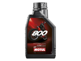 Motul 800 2 takt olie Factory Line Ester Core Off Road 100% synthetisch 1 liter