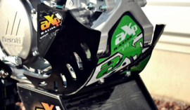 AXP blokbescherming GP zwart/groen voor de Kawasaki KX 450F 2016-2017