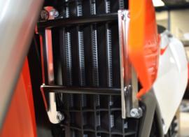 AXP radiator beschermers KTM SX 125 18-19 & SX 250 18 & SX-F 250/350/450 18-19 & EXC TPI 250/300 18-19 & EXC-F 250/350/450/500 18-19 & Husqvarna TC 125 18-19 & TE 250/300i 2018 & FC 250/350/450 2018 & FE 250/350/450/501 2018