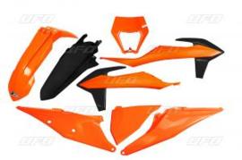 UFO Plastic Kit 2020 OEM kleur KTM EXC 250 TPI / EXC 300 TPI 2020-2021 & EXC-F 250/350/450/500 2020-2021