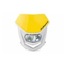 Polisport koplamp Halo Led RM geel/wit ECE goedgekeurd