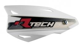 Rtech handkappen Vertigo wit + montageset voor 22/28.6 mm stuur