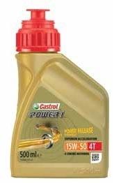 Castrol motorolie Power 1 Racing 4T 15W-50 500 ml