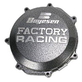 Boyesen Factory Racing koppelingsdeksel Zilver Kawasaki KX 125 1994-2002