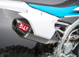 Yoshimura Compleet uitlaatsysteem RS4 titanium demper carbon / carbon eindkap Yamaha YZ 250F 2014-2018