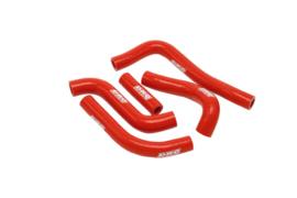 DRC radiator slangen set rood voor de Suzuki RM 250 2001-2008