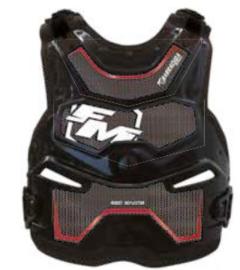 FM Barracuda bodyprotector zwart