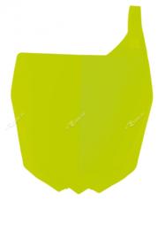 Rtech neon geel voornummerplaat Yamaha YZ 125/250 2015-2018 & YZ 250F 2010-2018 & YZ 450F 2010-2017