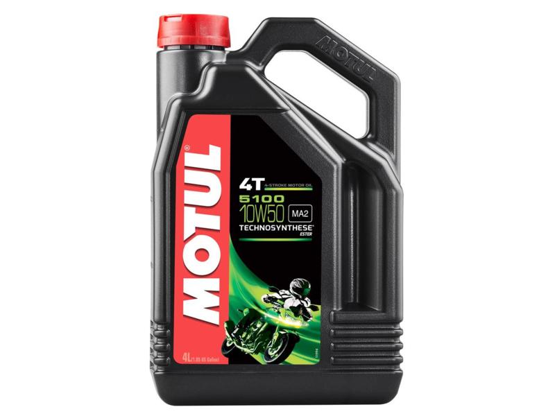 Motul 5100 motorolie 4t 10w50 half-synthetisch 4L