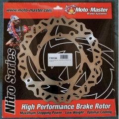 Moto-Master Nitro voor-achter remschijf ( standaard afmetingen )