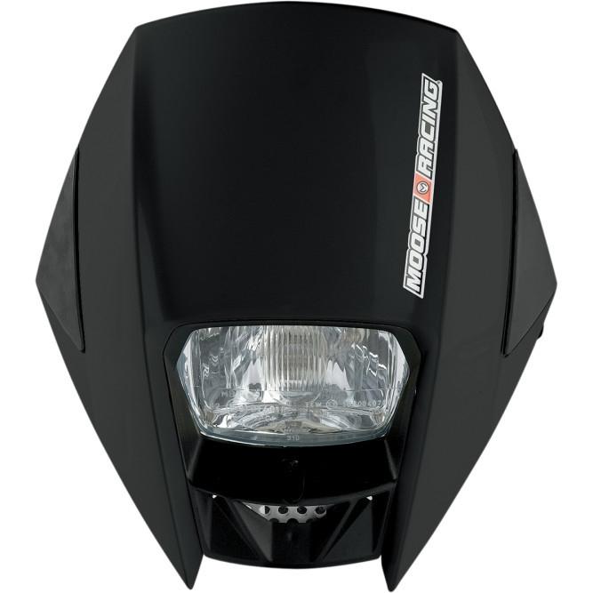 Moose Racing road warrior koplamp kit zwart