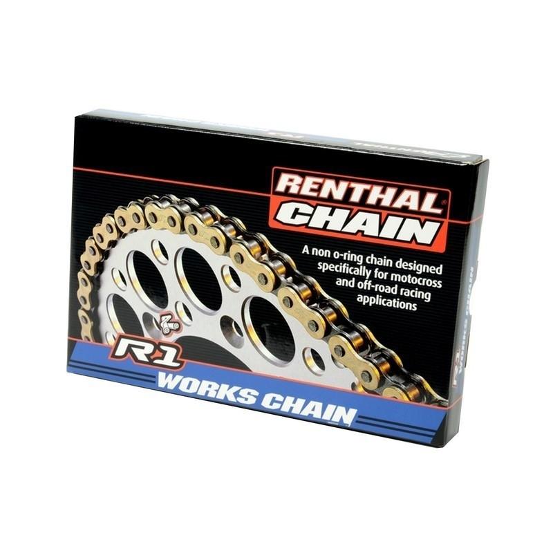 Renthal ketting R1 520 x 118L gold