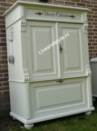 "Riviera style "" Old House Cabinet"""