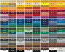 Bestelling in afwijkende kleur