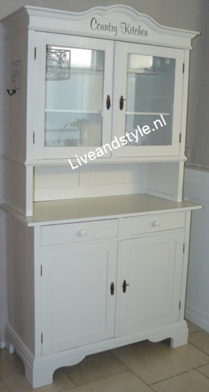"""Brocante buffetkast """"Country Kitchen"""""""