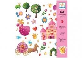 prachtige prinsessen stickers