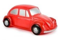 blitse rode auto lamp
