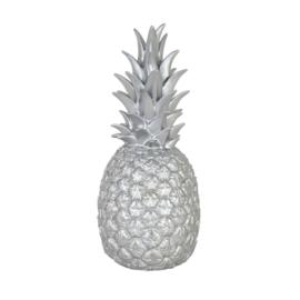 ananas lamp silver
