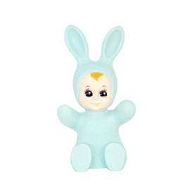 baby bunny lamp mint