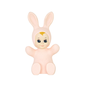 baby bunny lamp  pink