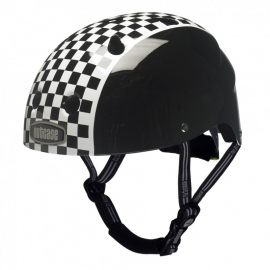 little nutty helm `checkerboard`