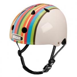 nutcase helm `rainbow stripes`